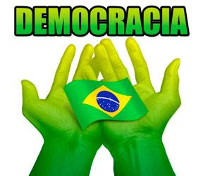 Resultado de imagem para Brasil democrático