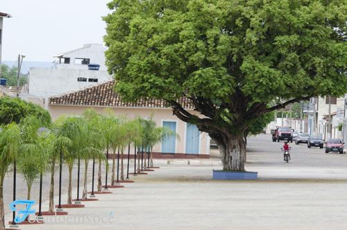 Praça Santo Antônio em Paramirim