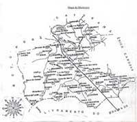 Mapa da Cidade de Paramirim